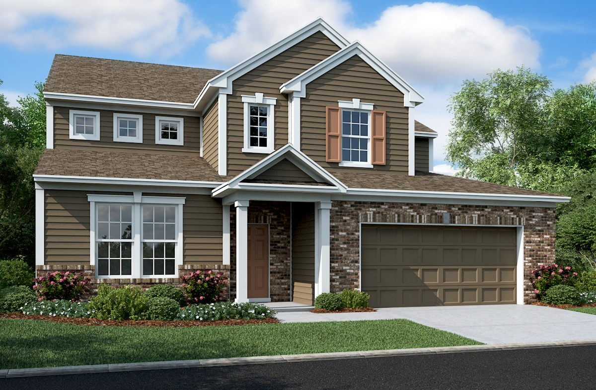 Whitley Home Plan In Summerland Park Noblesville In Beazer Homes Beazer Homes