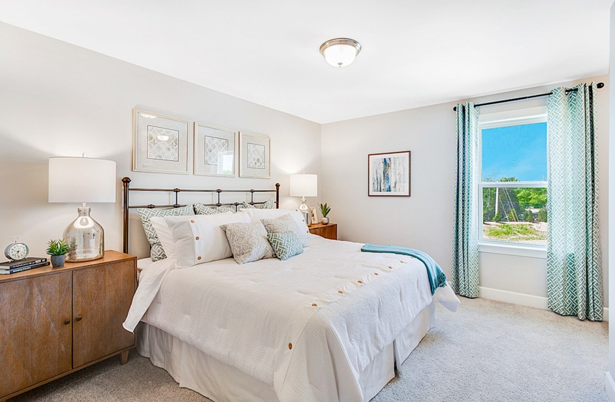 Magnolia Farms Landon light-filled bedroom