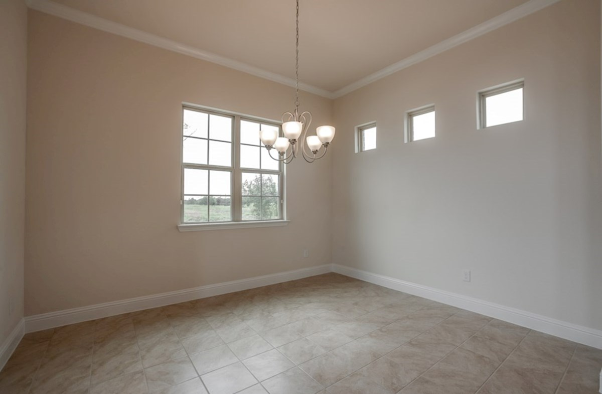 Brazos quick move-in spacious formal dining room