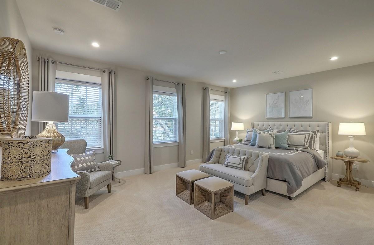 Bentley Park Dogwood upstairs master bedroom