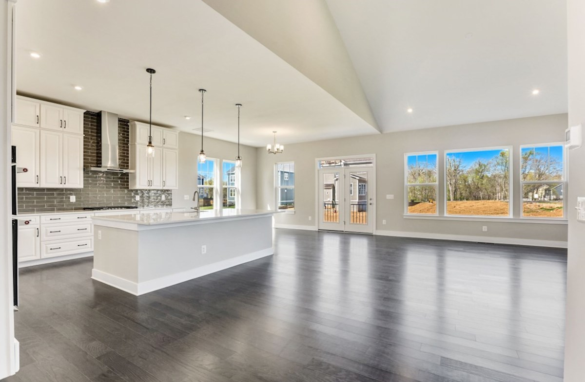 Willowsford Hadleigh open floorplan