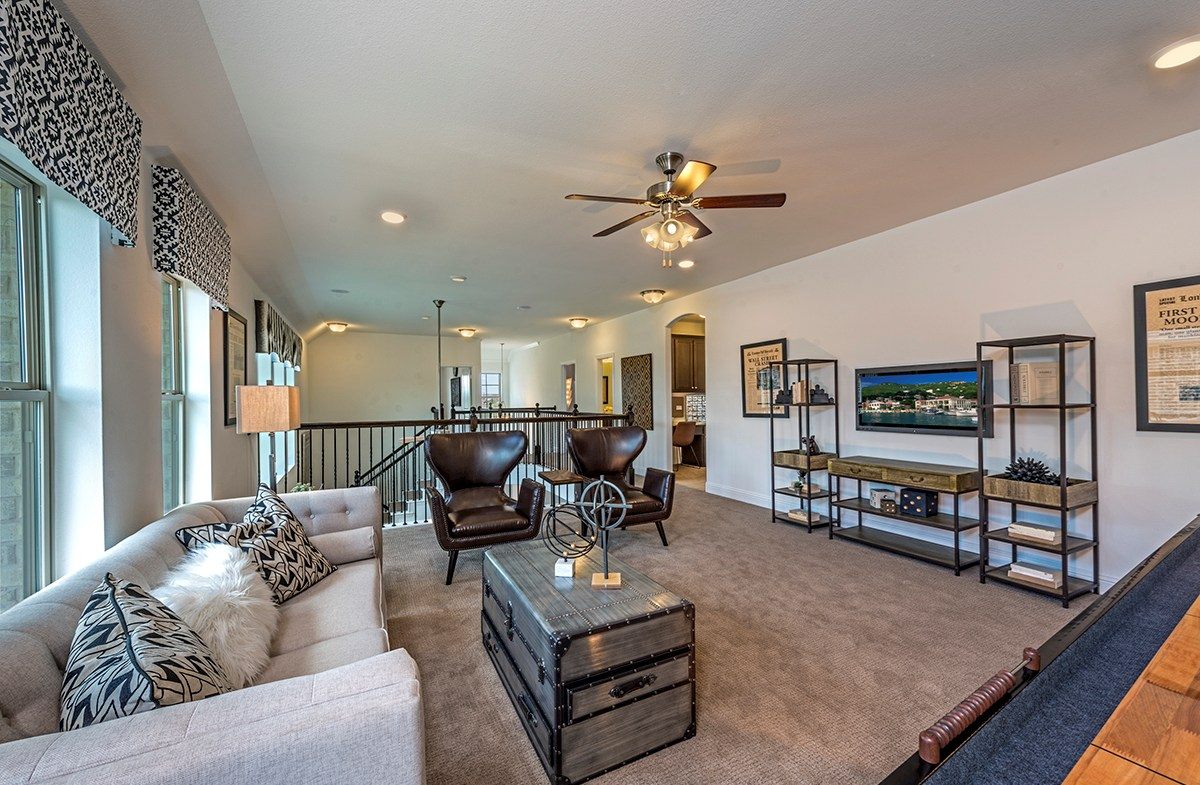 The Grove at Craig Ranch Hamilton Hamilton spacious loft overlooking great room