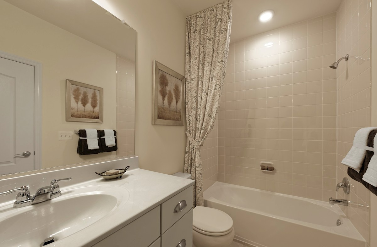 Gatherings® at Quarry Place Aspen with Study Secondary bathroom