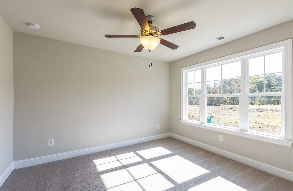 Brentwood quick move-in Secondary Bedroom With Ceiling Fan