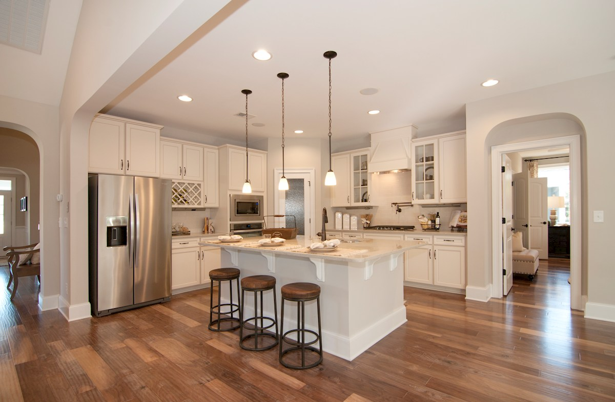 Balmoral at Market Common District Sinclair Choose a kitchen layout to fit your needs