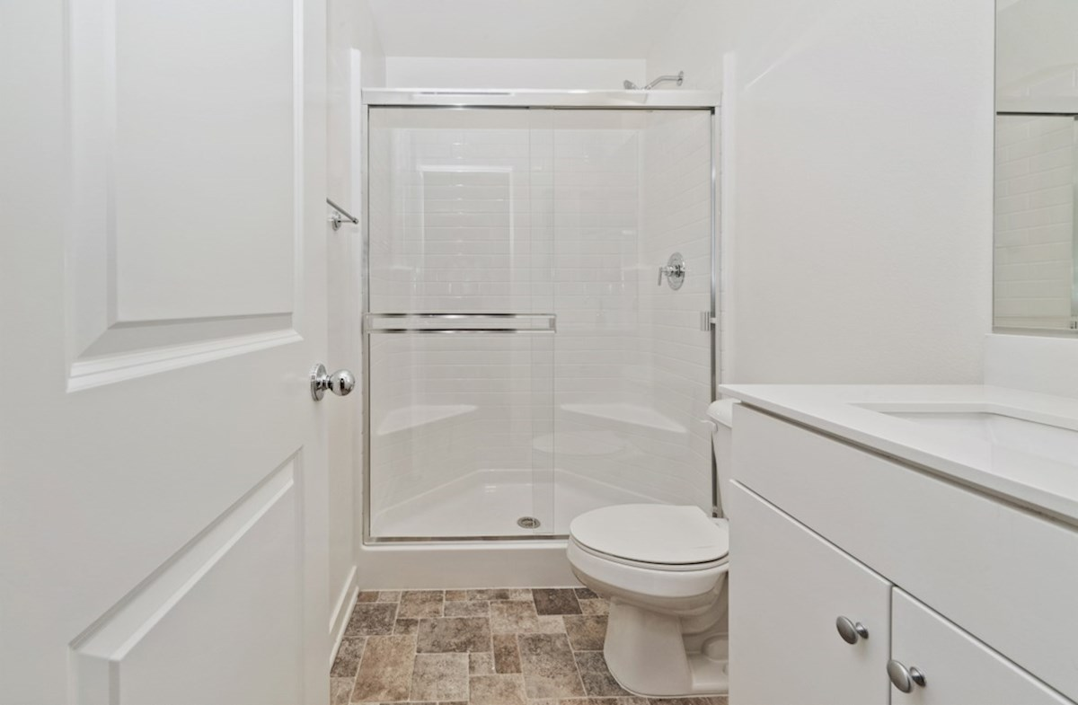 Paxton quick move-in Paxton bathroom on main floor