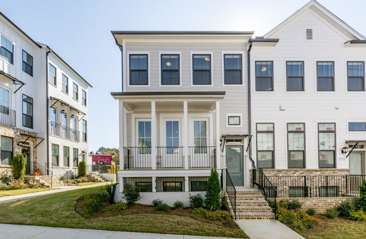 Piedmont II Elevation Urban Lifestyle F quick move-in