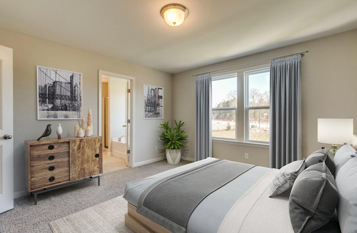 Laurel quick move-in gracious master bedroom