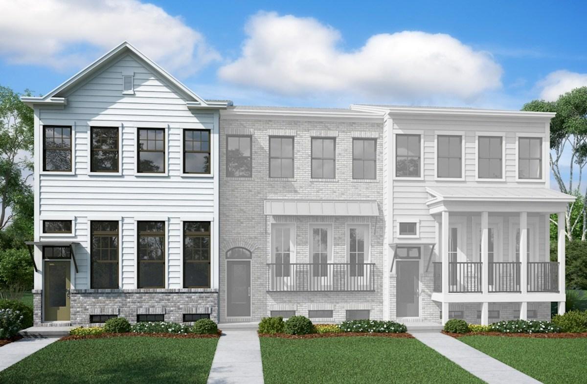 Piedmont Ii Home Plan In Morningside Towns Atlanta Ga Beazer