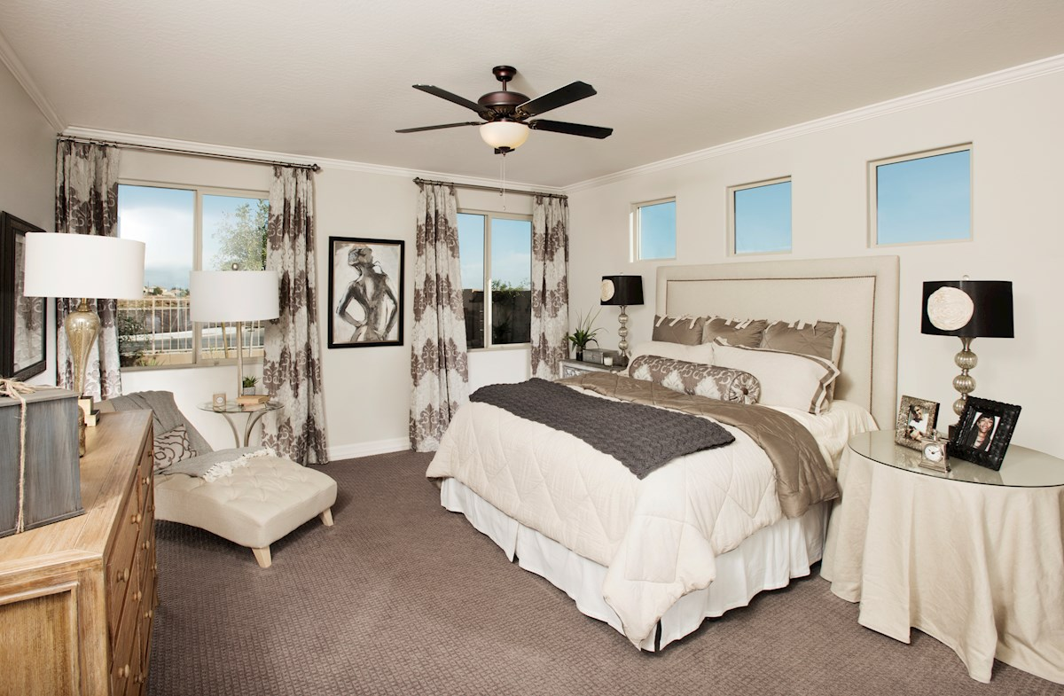 Alessandria at Windrose Winslow spacious master bedroom