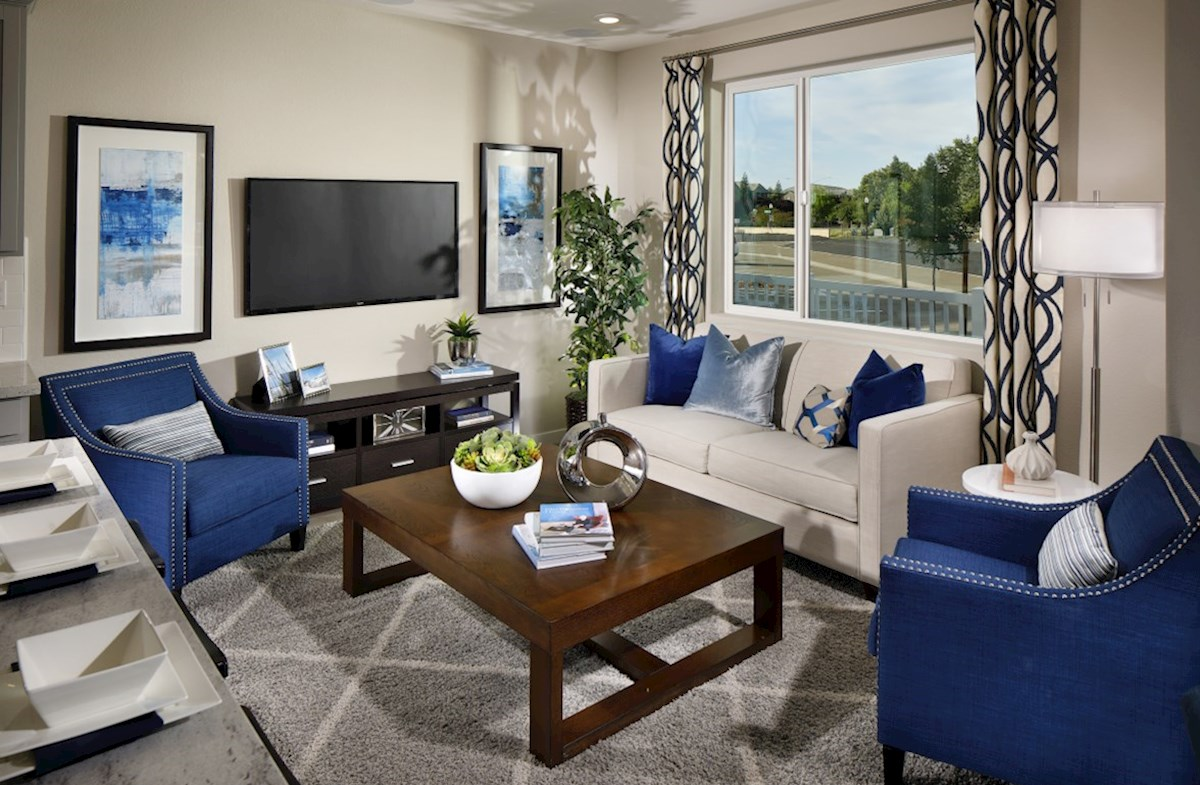 Natomas Field Augustus living room