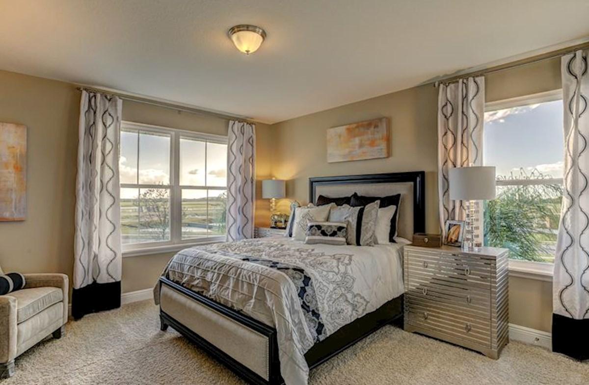 Long Lake Ranch Sequoia guest bedroom