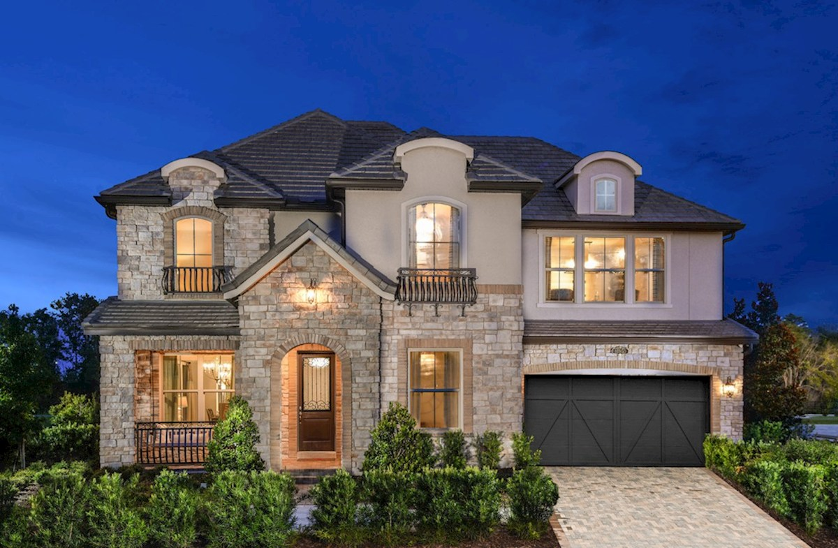 Wilson Elevation French Country N