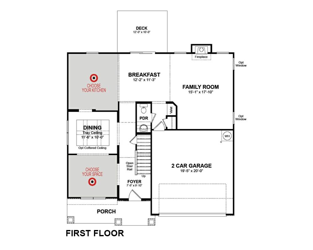 Maddan Home Plan in Peak 502, Apex, NC | Beazer Homes - Beazer Homes