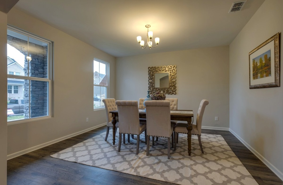 Spring Creek Garner formal dining room