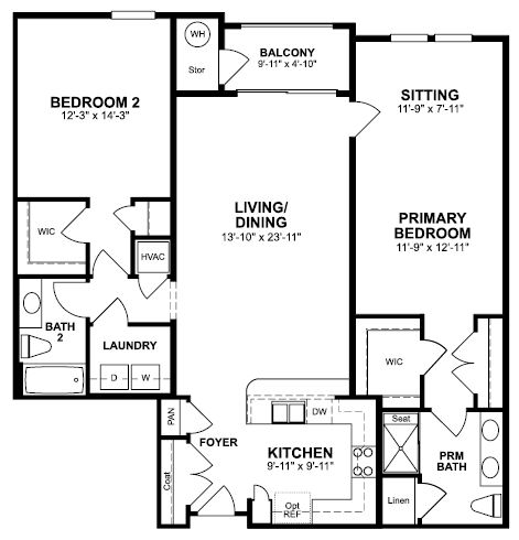 Floorplan of Aspen