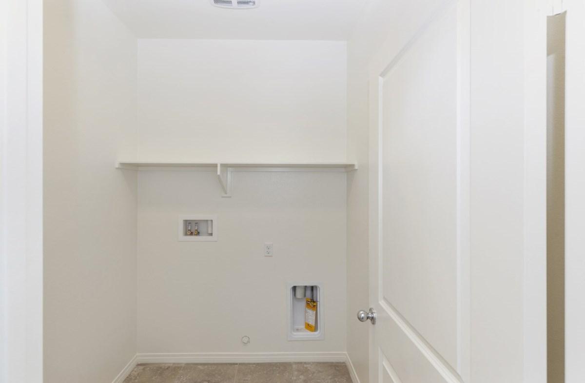 Iris quick move-in Iris laundry room