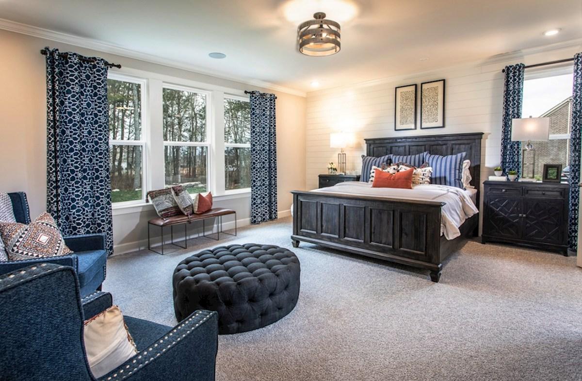 Herrington Dogwood II spacious master bedroom