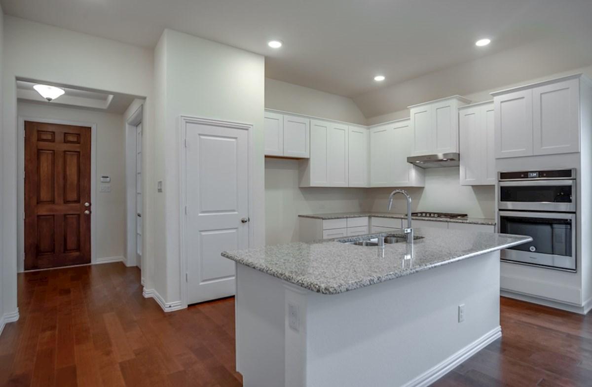 Silverado quick move-in open kitchen with white cabinets