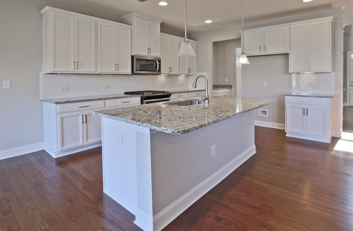 Charlotte quick move-in Kitchen with granite countertops
