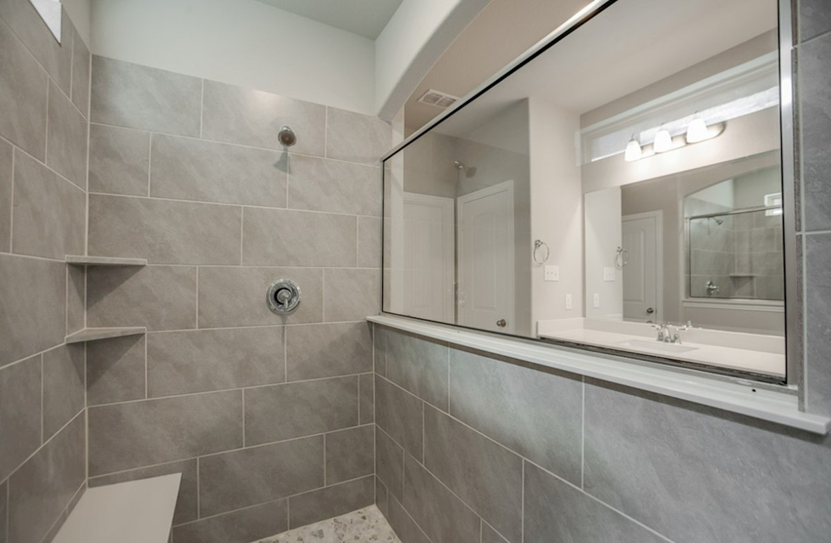 Summerfield quick move-in Summerfield master bathroom walk-in shower