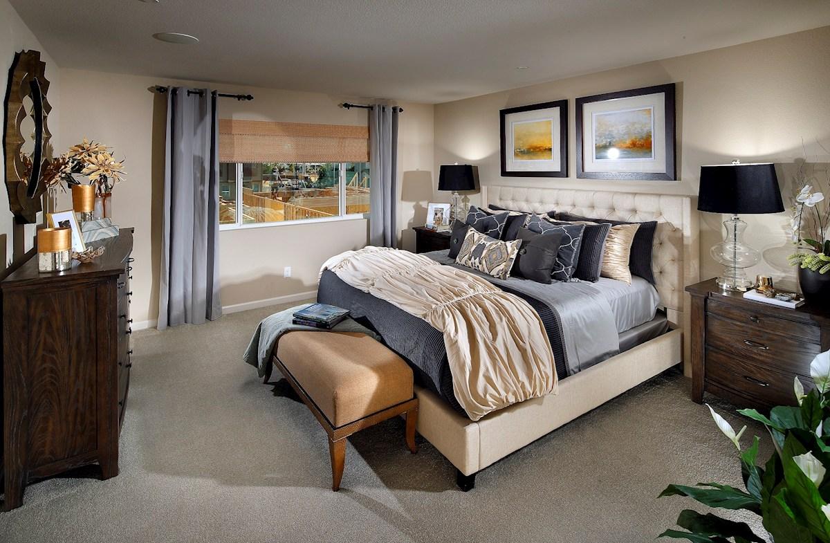 Natomas Field Weston Spacious master bedroom