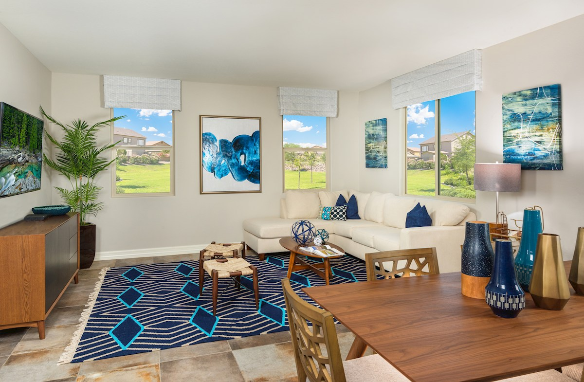 Mission Hermosa at Estrella Prescott open floorplan