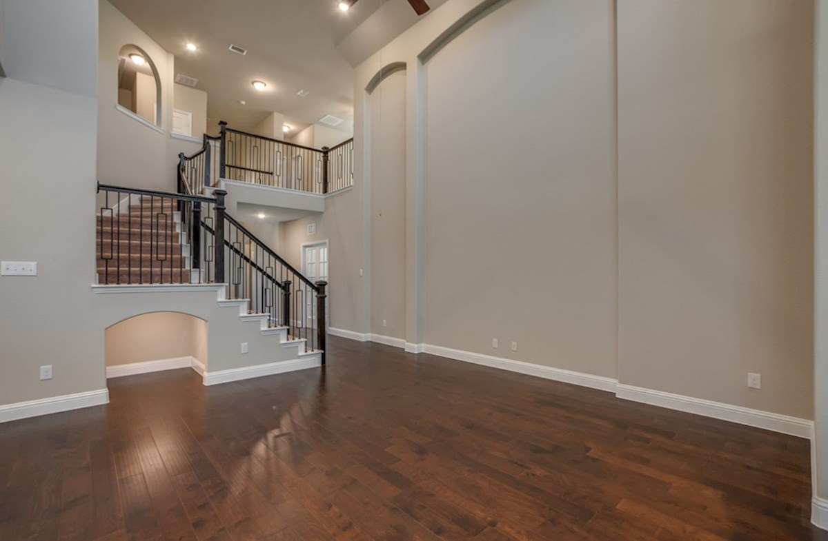 Summerfield quick move-in Summerfield two-story great room