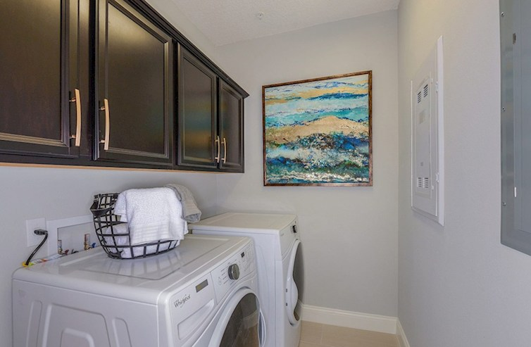 Gatherings® at Indian Lake Wiltshire ample laundry room