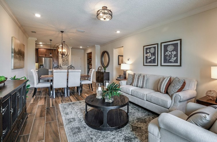 Gatherings® of Lake Nona Aspen with Study spacious great room
