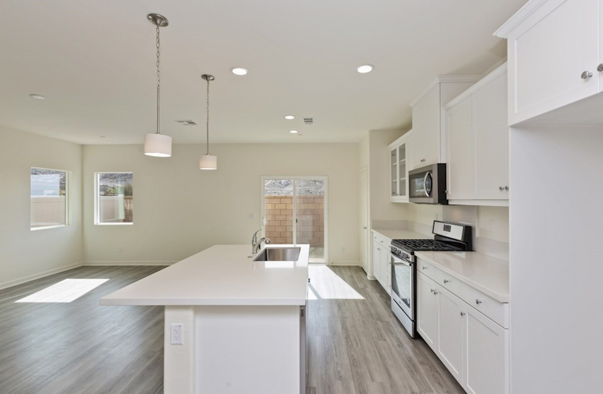 Paxton quick move-in Entertain guests while preparing gourmet meals in this open-concept kitchen and great room
