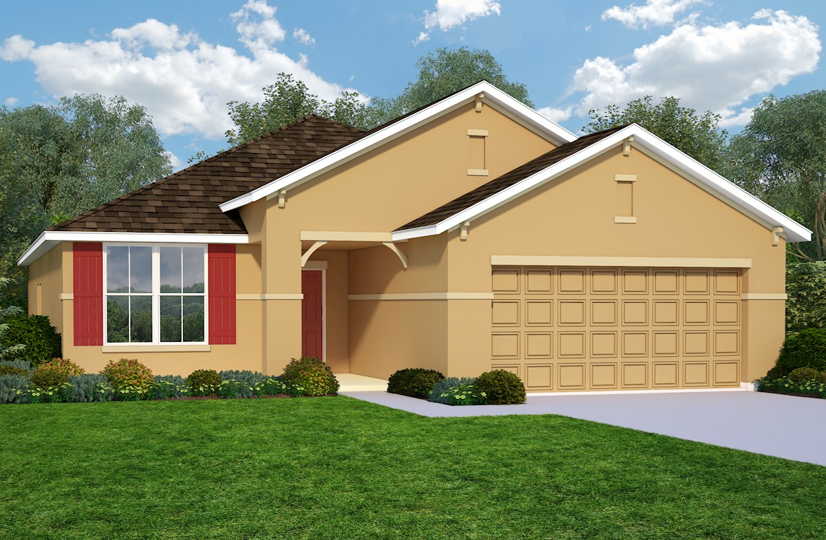 Aspen Home Plan in Reserve at Sawgrass, Orlando, FL | Beazer Homes ...