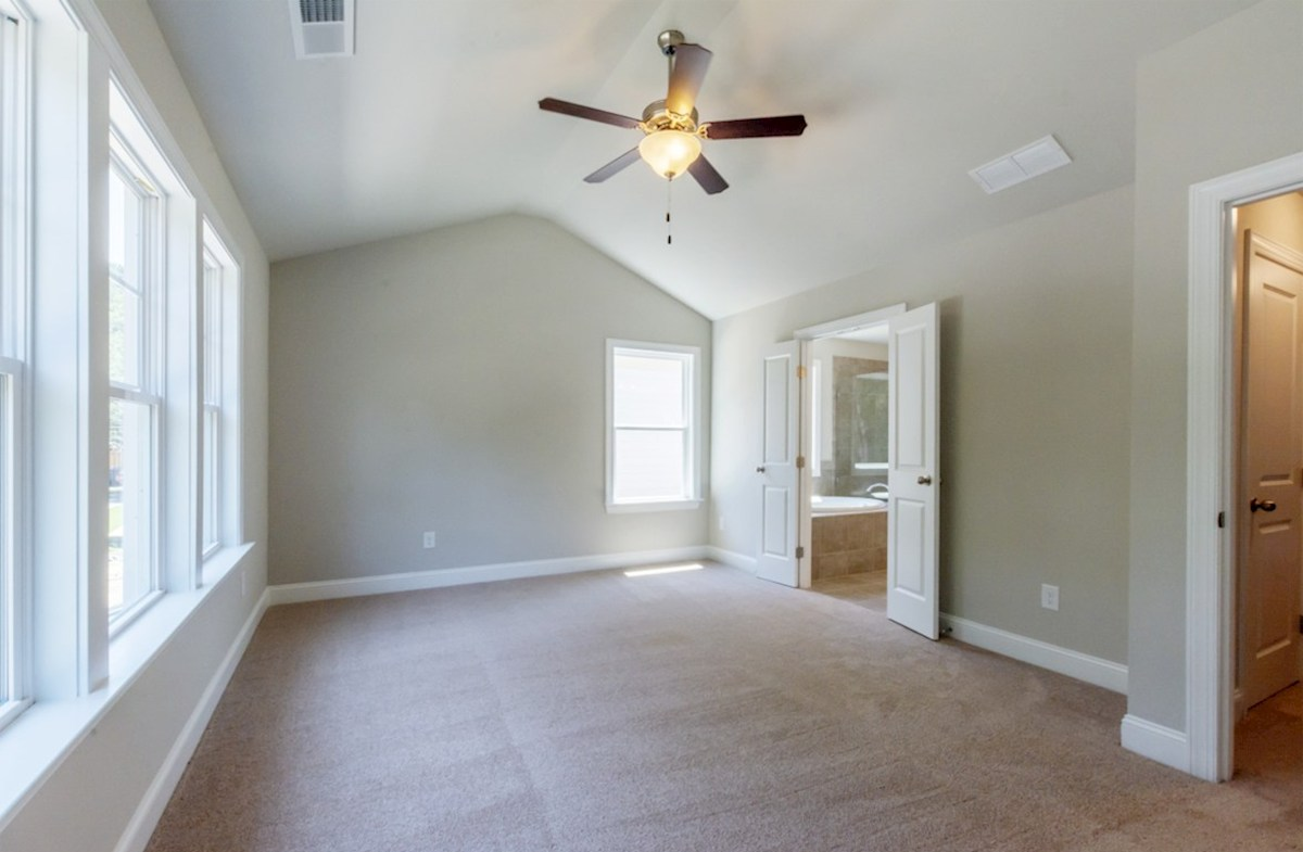 Preston quick move-in Master Bedroom with lots of natural light