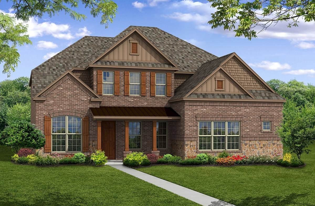 Madison Home Plan In Stoney Creek Sunnyvale Tx Beazer
