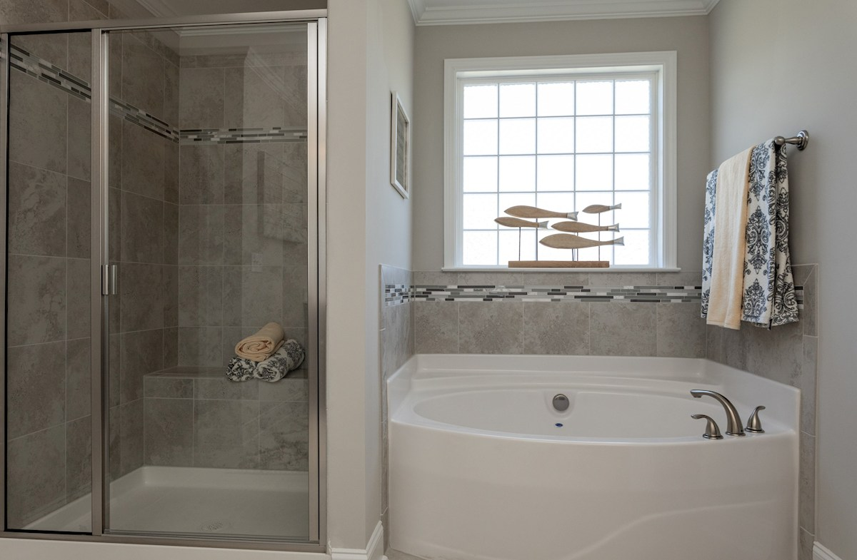 Pamlico master bath