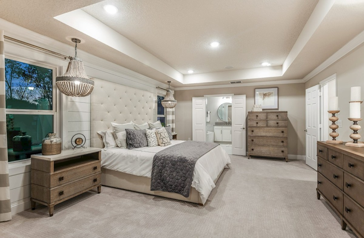 Clifton Park Canterbury blissful master bedroom
