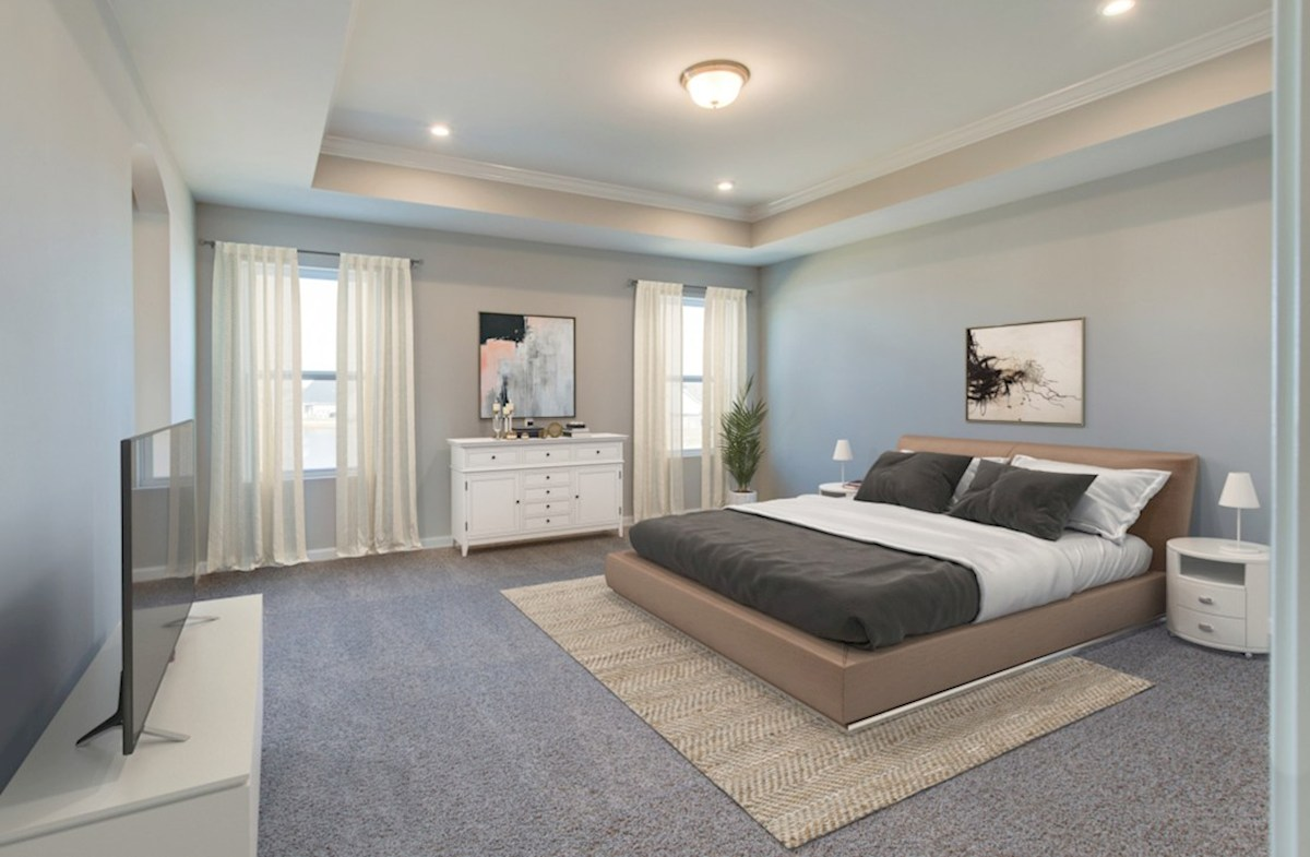Ashford quick move-in spacious master bedroom