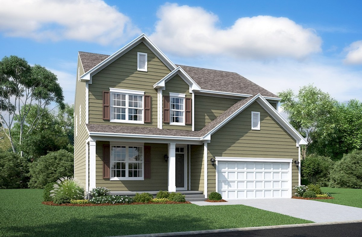 Oxford Home Plan in Enclave at River Hill, Clarksville, MD ...