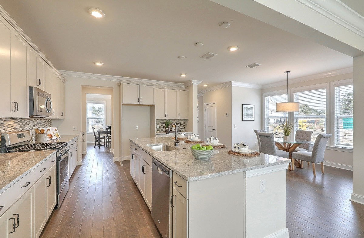 Middleton quick move-in open-concept floorplan
