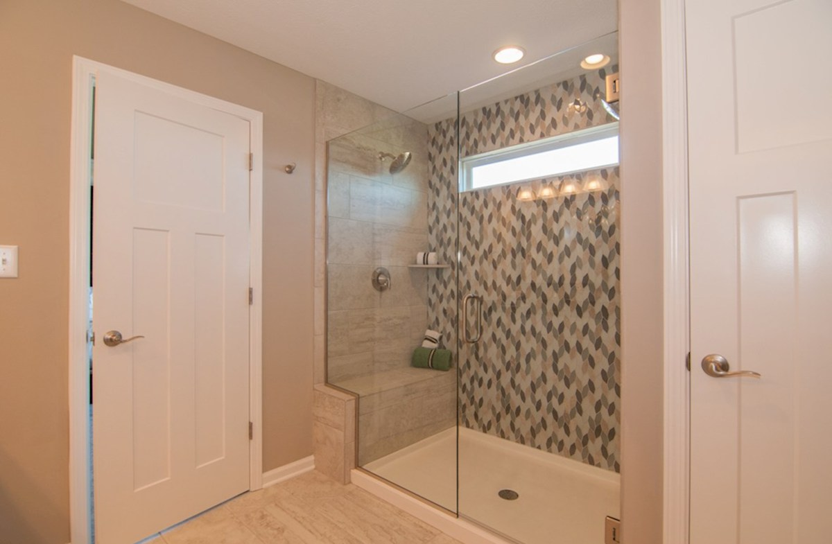Summerland Park Porter master bath with tiled shower