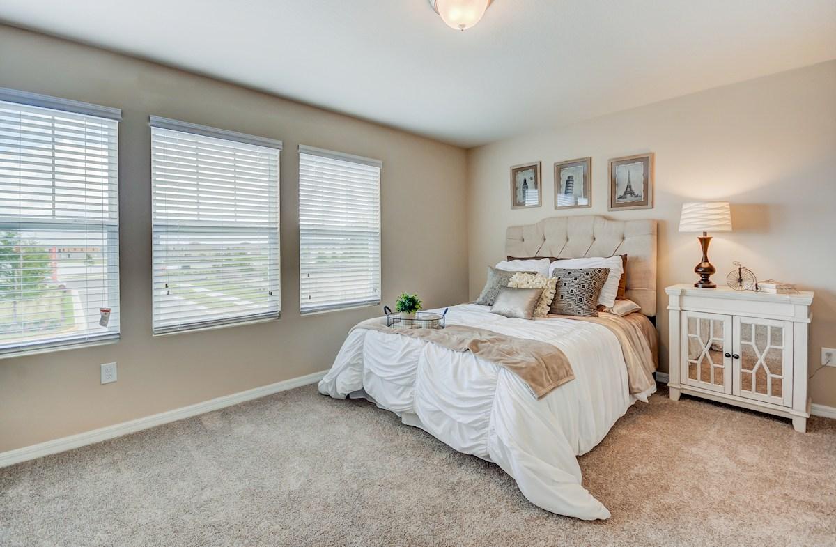 Long Lake Ranch Townhomes Tahoe master suite windows
