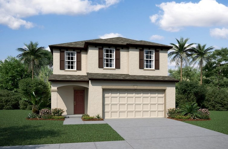 Covington Elevation Mediterranean L