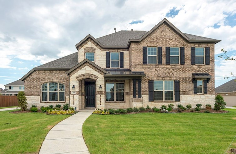 Riverdale Elevation French Country M quick move-in