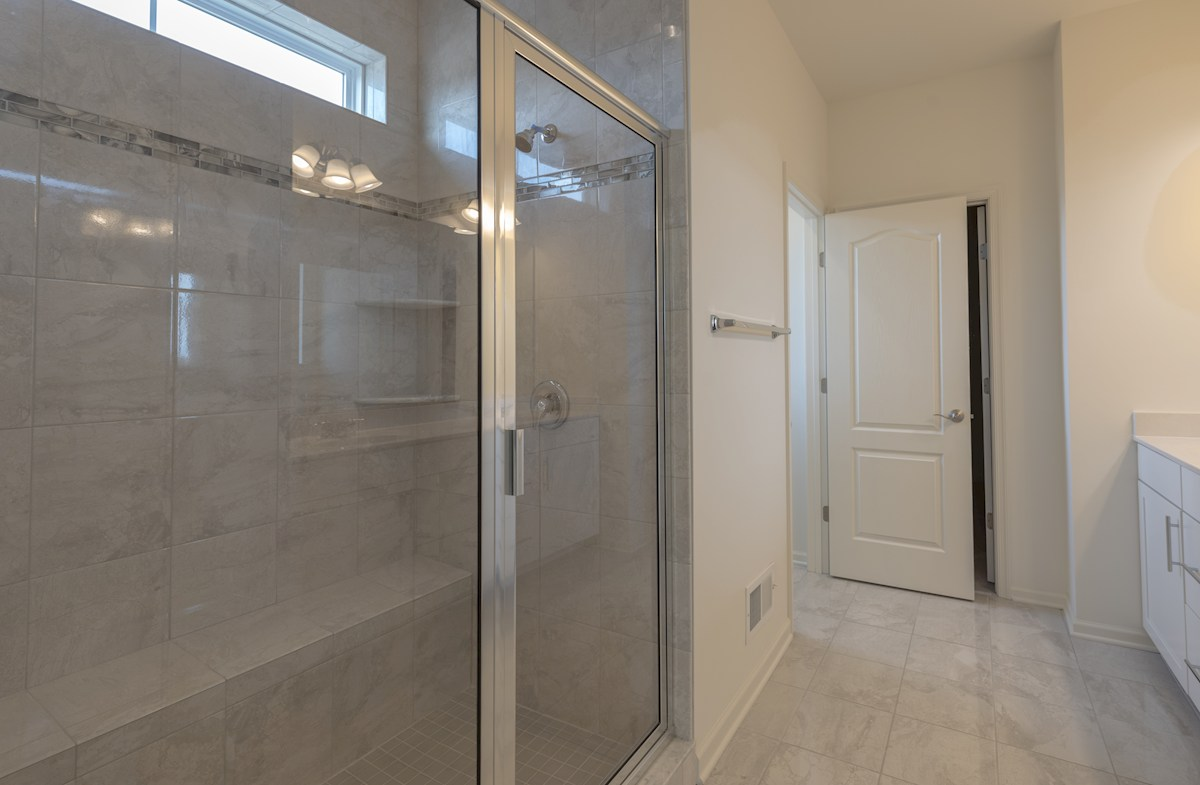 Darley quick move-in Large master bathroom with dual vanities