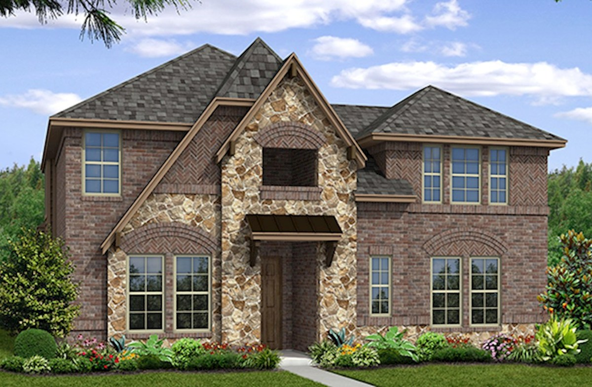 Richland Elevation French Country A