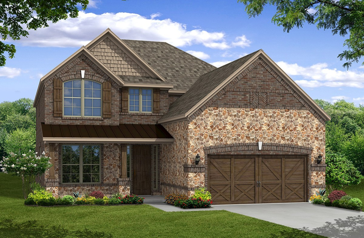 Aberdeen Elevation French Country N