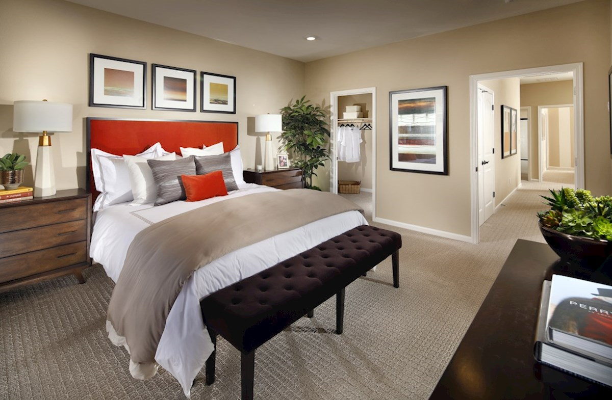 Natomas Field Weston Weston master bedroom