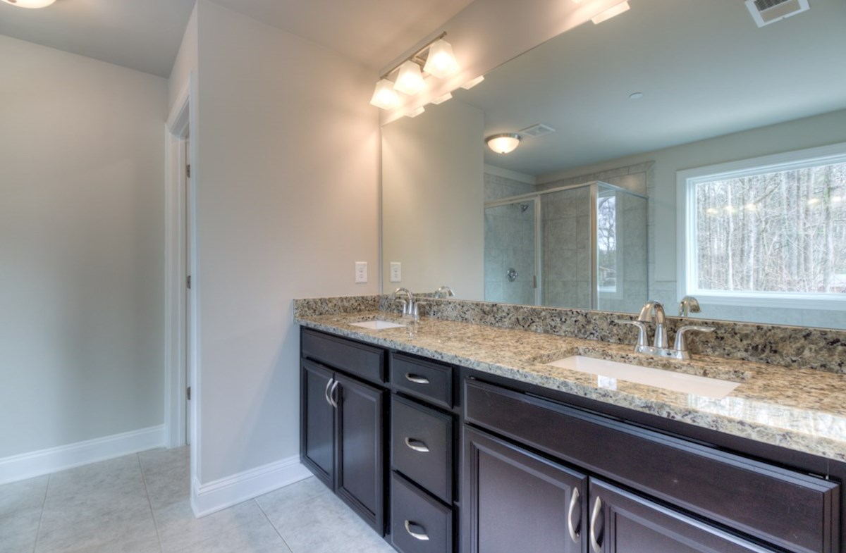Highland Park Norwich Master Bathroom with dual sinks
