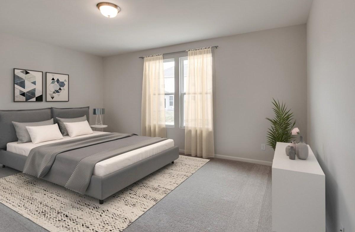Herrington Harper II inviting master bedroom