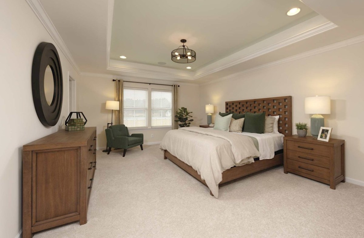 Heron's Ridge at Bayside Rehoboth Large master suite on the second floor